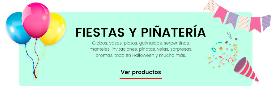 Fiestas y piñatería